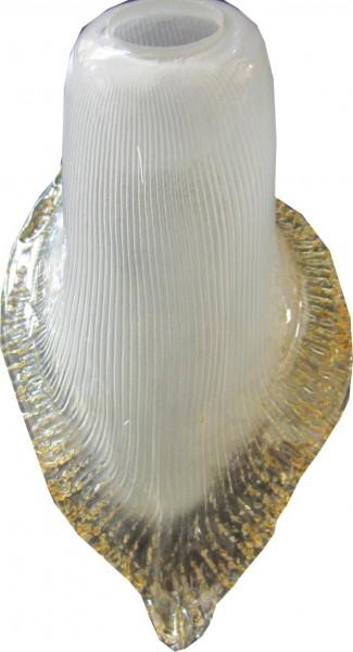 Vidrio de reemplazo para la lámpara de pie Lámpara Forma Vía Copa de Oro rand a color