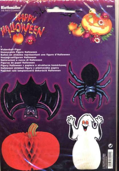 Calabaza de Halloween del panal bola figura