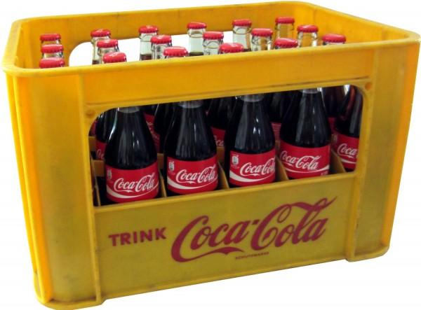 24 x Coca-Cola Classic 0.33L caso original botella de cristal