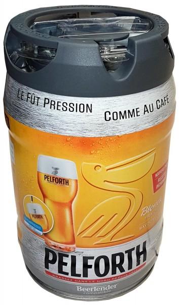 Pelforth cerveza rubia partido 5 litros barrilete de 5,8% vol. con grifo